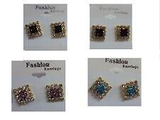 NUEVO Diseño Único COLOR ORO Pendientes Fashion Jewelry Nuevo