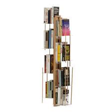 LE ZIE DI MILANO libreria sospesa da parete ZIA VERONICA in faggio massello