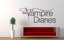 El Vampire Diaries televisión Dormitorio Pegatinas De Pared Arte Calcomanía Mural 4 Tamaños