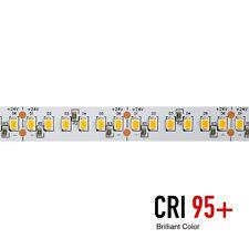 Striscia LED 130W 26W/MT 24V Brilliant Color CRI95 800 SMD2835 160 LED/MT IP20