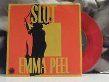 "SLOT - EMMA PEEL / JAGERNAUT - 7"" RED VINYL NEAR MINT + INSERT"