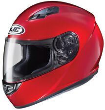 HJC CS-R3 with Dark Shield added Motorcycle Helmet Candy Red SM MD LG XL XXL