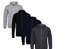 Fleece Hoodie Full Zip Hooded Jacket Top Soft feel warm Hoody