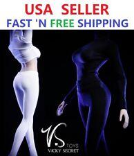 1/6 Turtleneck Stretch Slim Top Pants Set for 12'' Female Figure Doll PHICEN