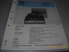 Dual dp1010v Service Manual