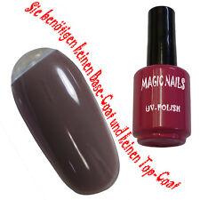 UV Polish Gel Soak Off Gel Polishgel Nail Art Nagellack Farbe  # Chocolatta