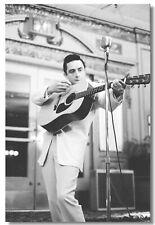 61182 Johnny Cash Pup Singer Star Wall Print Poster CA
