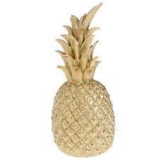 Harz Ananas Kunstobst Dekoobst Obst Dekoration Gold