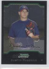 2004 Bowman Chrome #163 Dustin McGowan Toronto Blue Jays Baseball Card