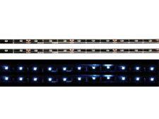 2 RUBAN NEON LED AUTOCOLLANT BLEU VOITURE 30 LEDS/RUBAN