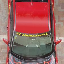 Hyundai Veloster Windshield Banner #2 Fits Decals Stickers 2012/13/14/15/16/17 I