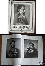 Dr. Franz Servaes Deutsche Köpfe Bildband 1924