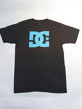 Mens Genuine DC Casual Fashion skate bmx mx Tee T-Shirt S M L XL XXL Black DC120