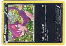 PROMO POKEMON MAC DO 2012 MCDONALD'S W&B CARD HOLO N°  9/12 PURRLOIN