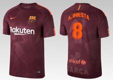 Camiseta nike fc barcelona 2017-2018 third-iniesta 8 [152 hasta XXL] barca 3rd