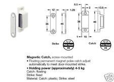 HAFELE #246.29.105 MAGNETIC CATCH, BROWN PLASTIC
