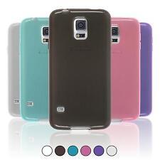 Silikon Hülle für Samsung Galaxy S5  crystal-case + 2 Schutzfolien