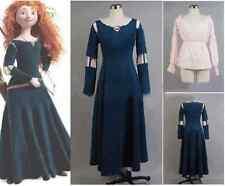 Princess Merida Cosplay Hand-Costum Dress for Brave Cosplay Equipment