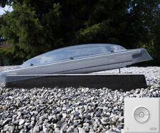 Flachdach Fenster VELUX Integra CVP Automatisch-Manuelle zu öffnende Lichtkuppel