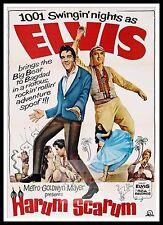 Harum Scarum   Elvis Presley Movie Posters Musicals Classic Cinema
