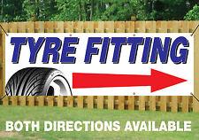 Montaggio pneumatici freccia di direzione Banner segno All'Aperto Impermeabile in PVC vendita pneumatici 014