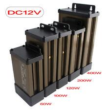 LED Driver Lighting Transformers 12V 24 V Power Supply Adapter Outdoor Rainproof
