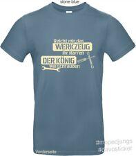 T-Shirt Reicht mir das Werkzeug  Mopedjungs Simson MZ Oldtimer Trabant Wartburg