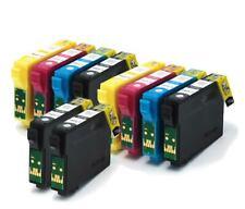 2 SET COMPATIBILE (NON OEM) Cartucce di inchiostro Con Extra BK per sostituire t1285 t1281