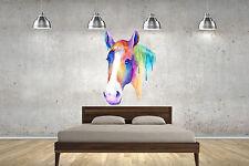 Horse Watercolour Wall Sticker Wall Art Decals lounge bedroom children adult