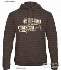 Sweater Reicht mir das Werkzeug Mopedjungs Hercules Zündapp Kreidler Vespa BMW