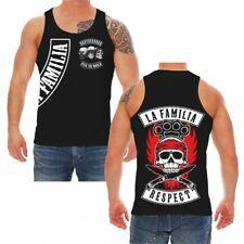Trägershirt Tank Top La Familia RESPECT criminal fuck no mercy gangs