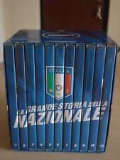 OPERA COMPLETA BOX COFANETTO 11 DVD LA GRANDE STORIA DELLA NAZIONALE ITALIA NEW
