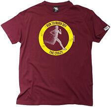 Ejecutar para quemar el Loco Para hombres Camiseta De Entrenamiento regalo de cumpleaños que ejecutan Runner
