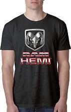 Mens Dodge Ram Hemi Logo Burnout T-Shirt