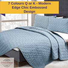 3 Piece Chic Embossed Comforter Set | 3pc Coverlet Sets | 3pc Comforter Sets