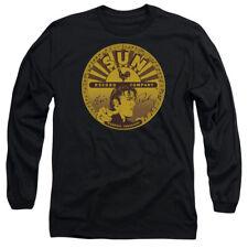 Sun Elvis Full Sun Label Mens Long Sleeve Shirt