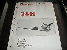 husqvarna 24h brush cutter.brush trimmer illastated parts list
