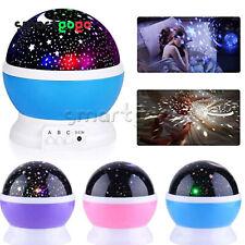 DC 5V LED Starry Night Sky Projector Kids Present Star light Cosmos Master BSG