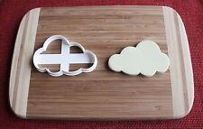 Cloud Cookie Cutter Cake Topper Fondant Cutter Cupcake Topper Food