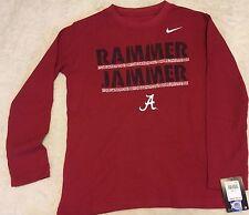 Alabama Crimson Tide Rammer Jammer Thermal Shirt Youth Nike