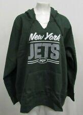 New York Jets NFL Womens NFL Team Apparel Green Pullover Notch Hoodie 3XL
