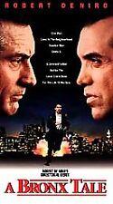 A Bronx Tale (VHS, 1994) Robert De Niro  Co-Starred & Directed(Debut)