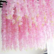 New Artificial Flower Vine Orchids Flower String Handmade Hanging Wedding Deco