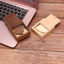 wooden Heart USB Flash Drive Pendrive 64GB 32GB 16GB 8GB U Disk Memory Stick SK