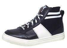 Momino 3805 Sneaker Halbschuhe Leder Lammfell Schwarz Gr. 35 - 40 Neu