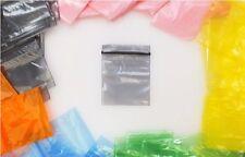 BUSTE ERMETICHE Sacchetto chiusura lampo zip Borsellino bustine vari colori