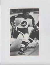 1981-82 Winnipeg Jets Team Issue Postcards #SESA Serge Savard Montreal Canadiens
