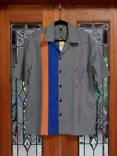 fe16e594 Men's 50's Rockabilly Charlie Harper / Sheen Style V8 Hot Rod Pinstripe  Shirt