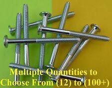 "Low-Profile Zinc Plated Bolts 1/4-20 70mm(~2.75"") Length/13mm Hex Head CNC JCB"