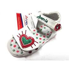 Scarpe sandalo Balducci Averis Sandaletto Bambina strappo Velcro bianco pelle